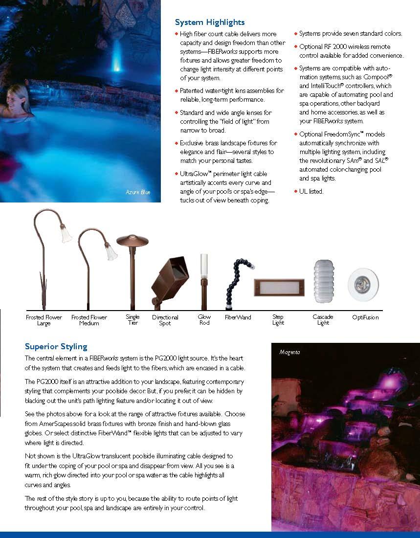 Click here for energy efficiency Fiber Optic lighting Pg-3