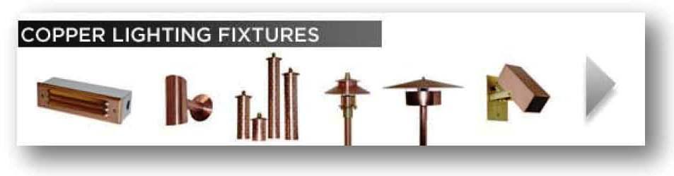 Copper Lighting Fixtures