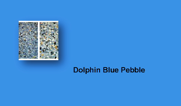 Dolphin Blue Pebble