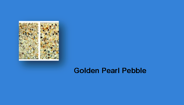 Golden Pearl Pebble