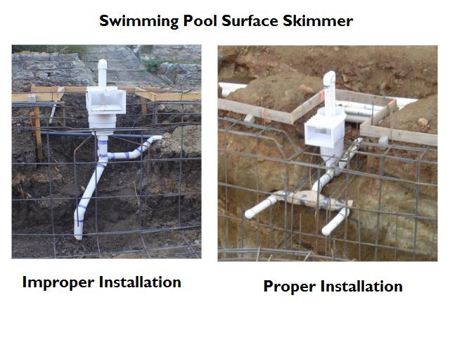 Improper Skimmer Installation
