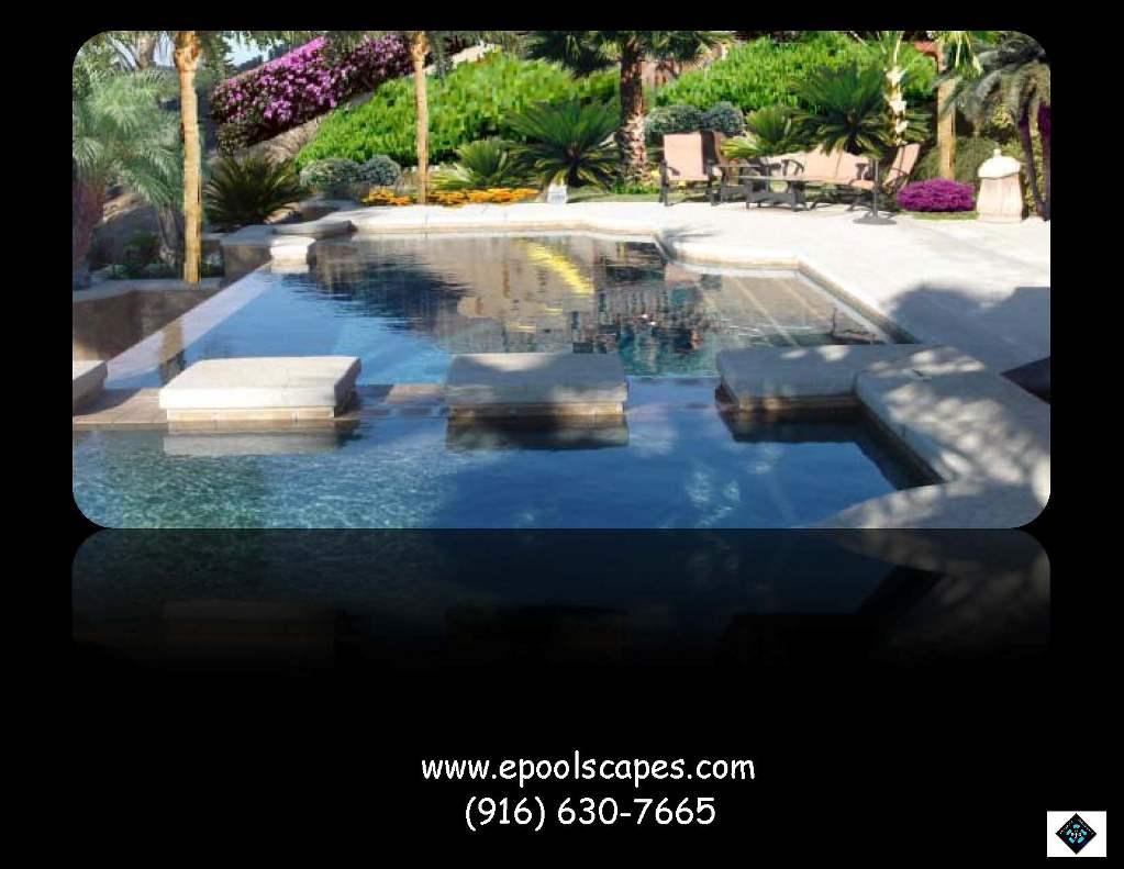 Raised Spa and V-Edge Pool