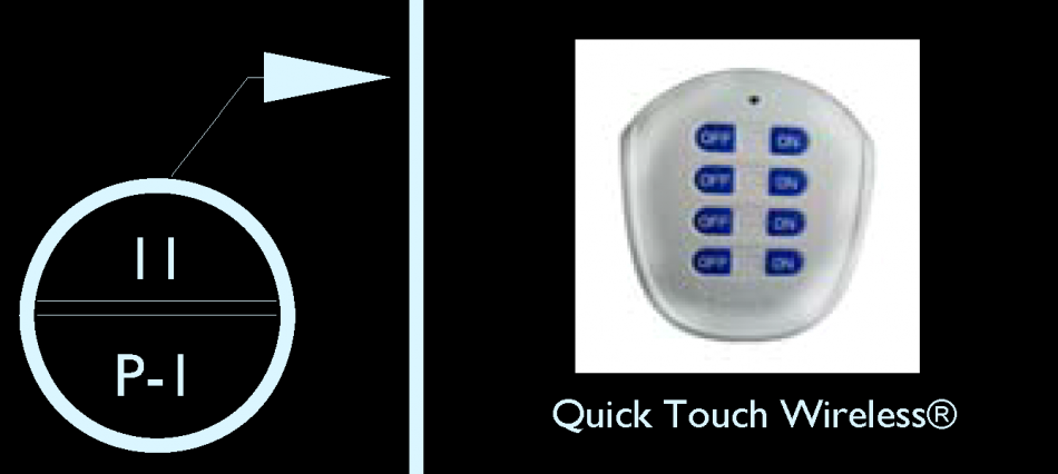 QuickTouch Wireless Control