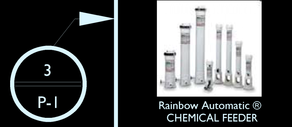 Rainbow ™ Automatic Chlorine/Bromine Feeders