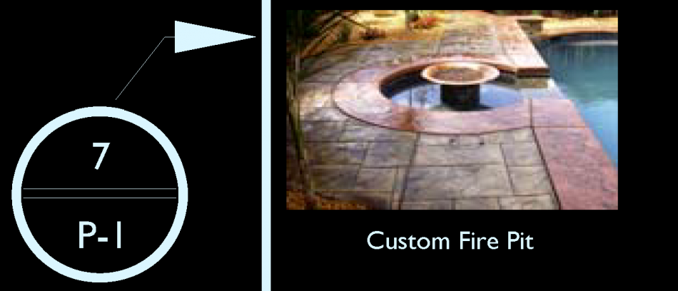 Custom Fire Pit Water Feature