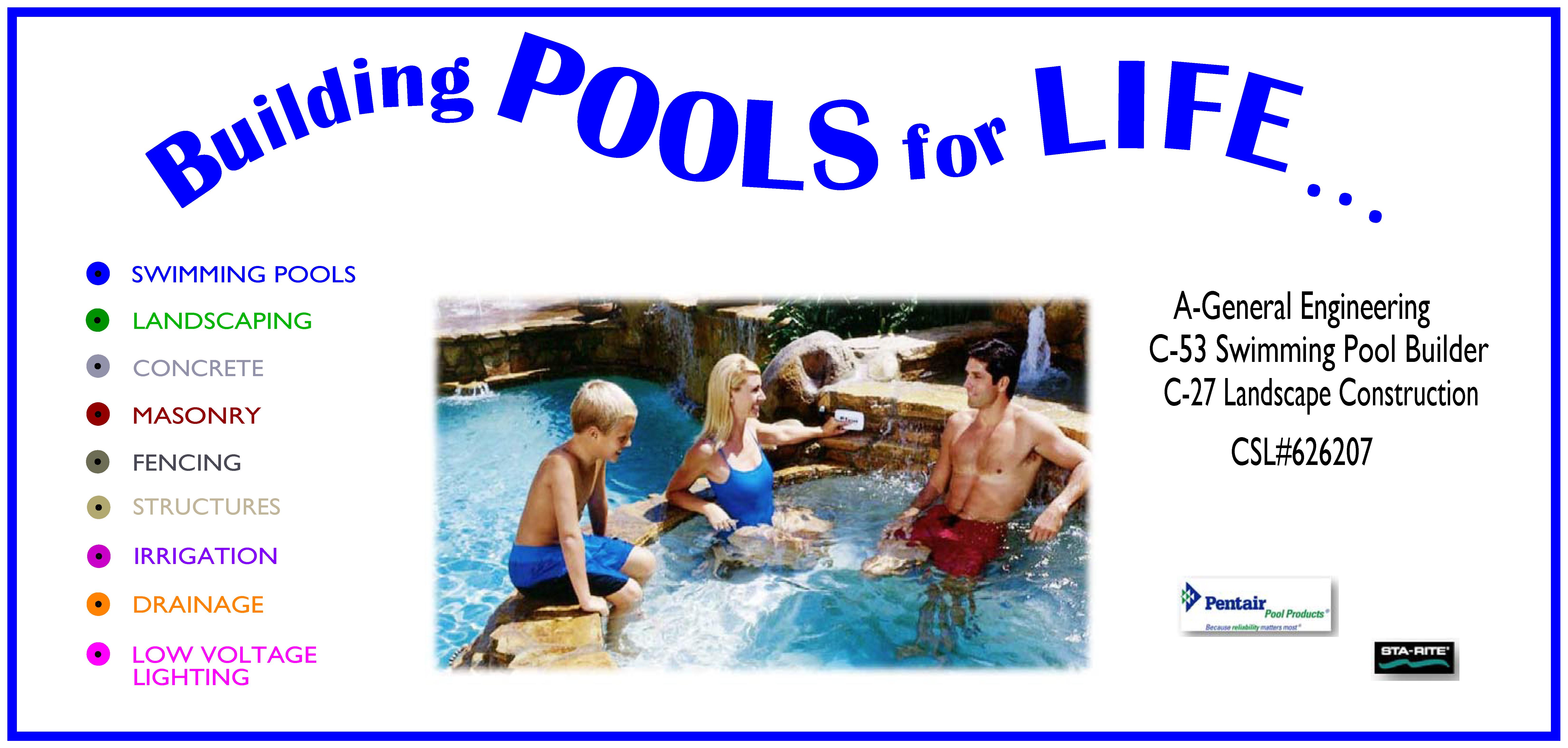 Swimming Pool Estimates