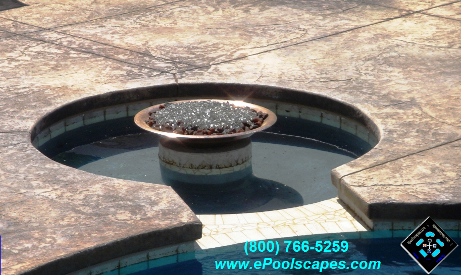 Fire Pit Water w-Spillway