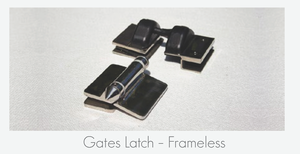 Gate Latch - Frameless