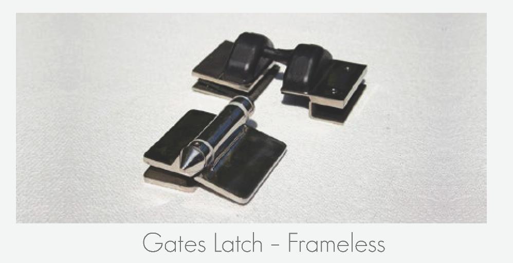 Gate Latch - Frameless