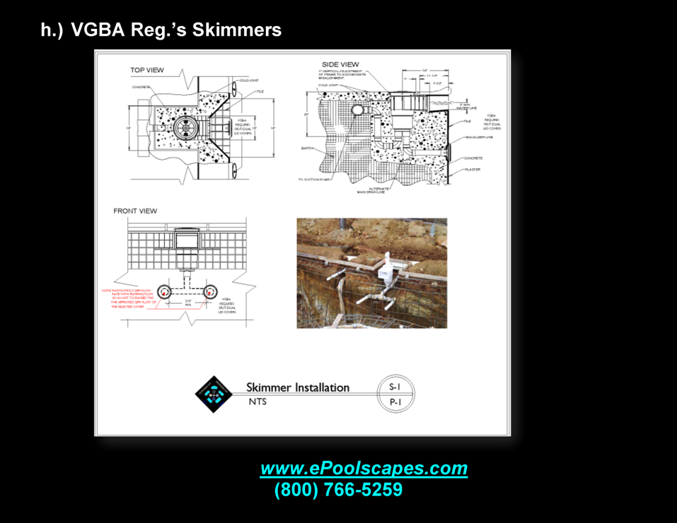1-h VGBA Surface Skimmer