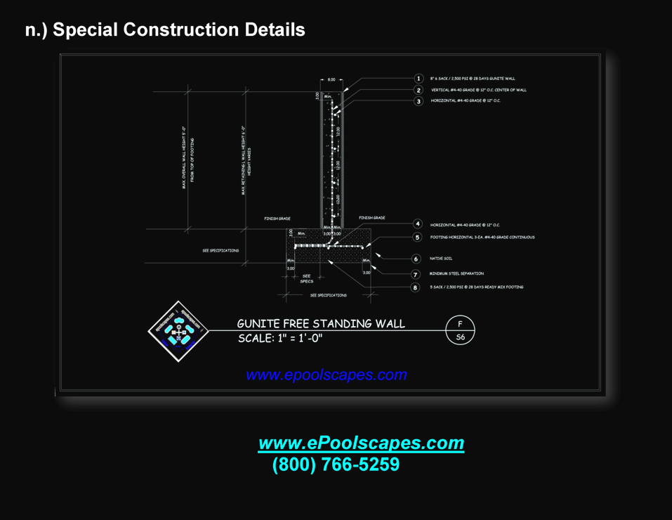 1-n Special Construction Details
