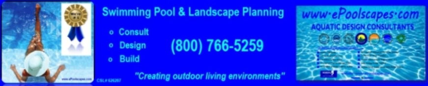 Swimming Pools & Landscape Planning